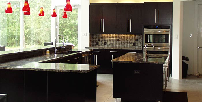 Custom Kitchen Cabinets Designs modern custom kitchen kitchen design iklo houston home builder